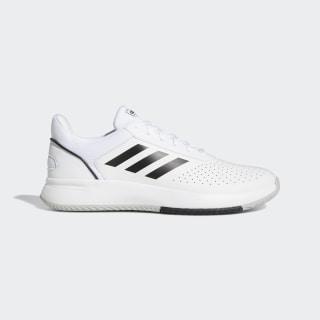 Sapatos Courtsmash Ftwr White / Core Black / Grey Two F36718