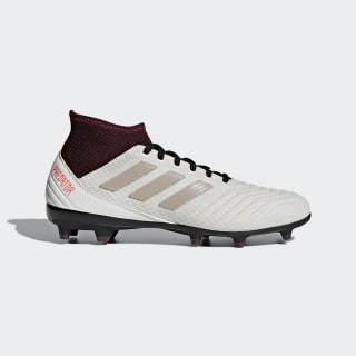Predator 18.3 Firm Ground Cleats Talc / Grey / Maroon DB2511