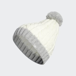 Bonnet Two-Tone Pompom White DZ6596