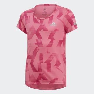 Camiseta Run semi solar pink / real magenta / reflective silver DV2800