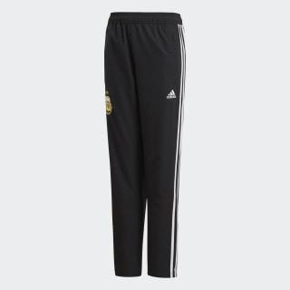 Pantalones de Presentación Selección de Argentina Niño 2018 BLACK/WHITE CF2614