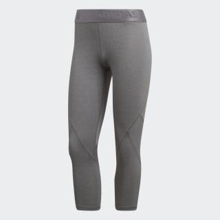 Alphaskin Sport Kırçıllı 3/4 Tayt Dark Grey Heather / Grey Four CE3972