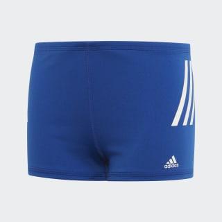 Pro 3-Streifen Boxer-Badehose Team Royal Blue / White FL8684