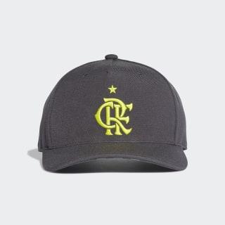 Boné CR Flamengo carbon / semi solar yellow DX9712