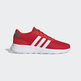 Lite Racer Shoes Active Red / Cloud White / Grey F34647