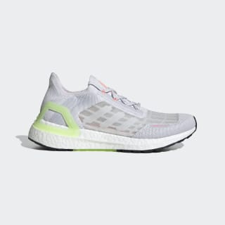 Ultraboost Summer.RDY Schoenen Dash Grey / Cloud White / Light Flash Red EG0752