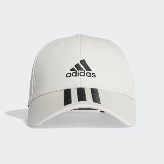 Baseball 3-Stripes Twill kasket Orbit Grey / Black / Black FK0896