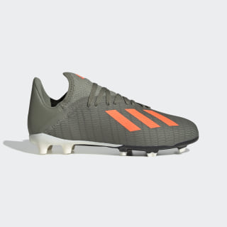 Zapatos de Fútbol X 19.3 Terreno Firme Legacy Green / Solar Orange / Chalk White EF8374