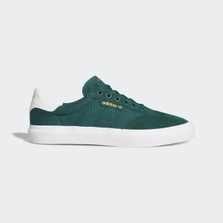 3MC Vulc Shoes Collegiate Green / Cloud White / Collegiate Green B22699