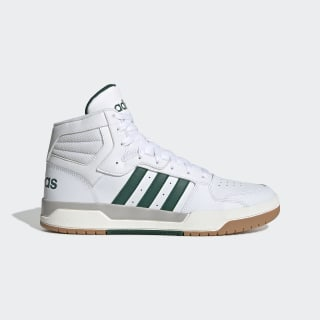 Entrap Mid Shoes Cloud White / Collegiate Green / Grey Two EG4308