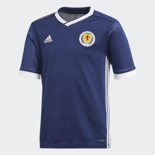 Домашняя игровая футболка сборной Шотландии dark blue / white BR8130