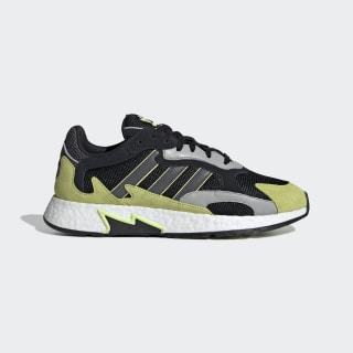 Tresc Run Shoes Core Black / Grey Five / Semi Frozen Yellow EF0766