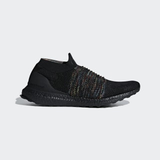 Zapatilla Ultraboost Laceless Core Black / Shock Cyan / Shock Yellow B37685
