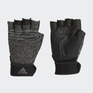 Перчатки для фитнеса Primeknit black / ch solid grey / matte silver FN1481