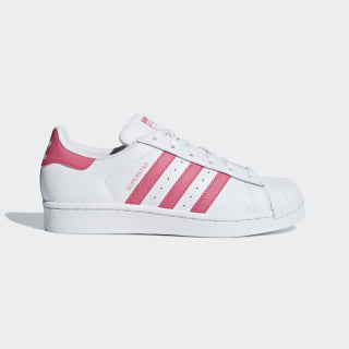 Superstar Shoes Cloud White / Real Pink / Real Pink CG6608