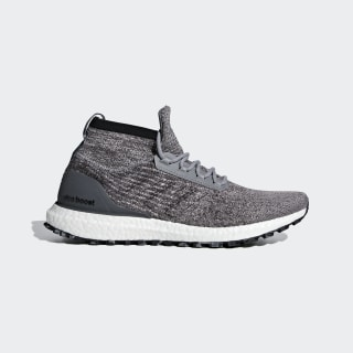 Ultraboost All Terrain Shoes shock red / carbon / carbon F35236