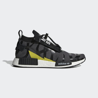 NEIGHBORHOOD BAPE NMD Stealth Shoes Core Black / Core Black / Cloud White EG0936