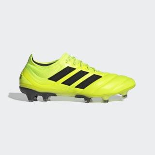 Bota de fútbol Copa 19.1 césped natural seco Solar Yellow / Core Black / Solar Yellow F35519