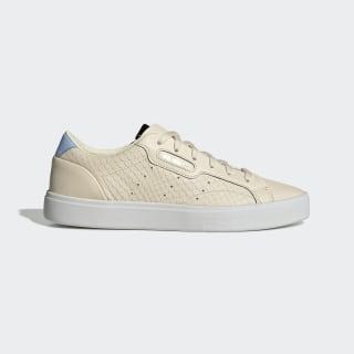 Tênis adidas Sleek Ecru Tint / Crystal White / Glow Blue EE4723
