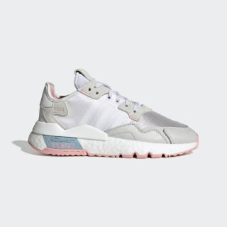 Zapatilla Nite Jogger Cloud White / Glory Pink / Grey One FV4136