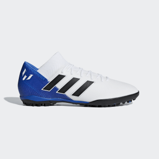 Chimpunes Nemeziz Tango 18.3 Césped Artificial FTWR WHITE/CORE BLACK/FOOTBALL BLUE DB2220