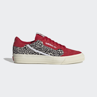Continental Vulc Shoes Scarlet / Cloud White / Off White EF3527