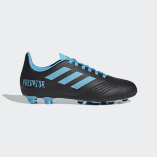 Zapatos de Fútbol Predator 19.4 Multiterreno Core Black / Bright Cyan / Solar Yellow G25823