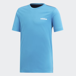 Playera Linear shock cyan / collegiate navy DV2916