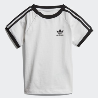 Camiseta 3-Stripes White / Black DV2824
