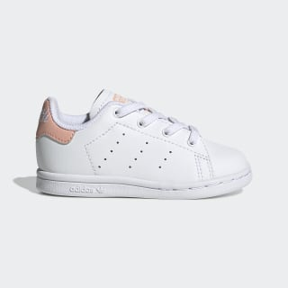 Scarpe Stan Smith Cloud White / Cloud White / Glow Pink EE7596