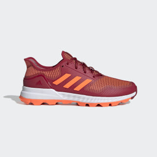 Sapatos de Hóquei Adipower Active Maroon / Solar Orange / Cloud White G25957