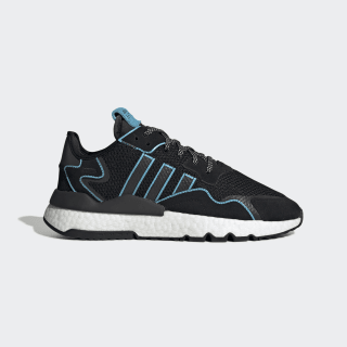 Nite Jogger Shoes Core Black / Bright Cyan / Cloud White FV3591