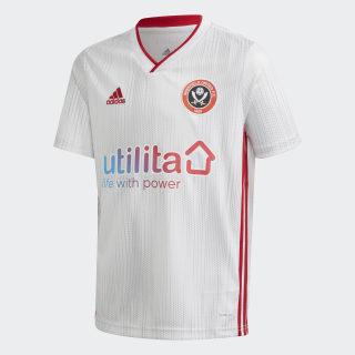 Sheffield United udebanetrøje White / Grey Two / Power Red FK0907