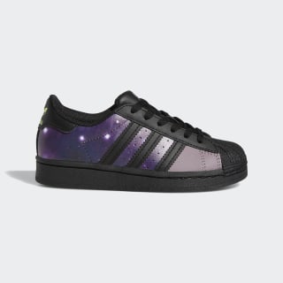 Кроссовки Superstar Core Black / Core Black / Glory Purple FW2645