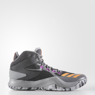 D Rose Dominate 4 Shoes Dark Grey Heather /Glow Orange/Grey BB8180