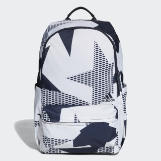 Mochila Classic ID Graphic Raw White / Legend Ink / White DT4065