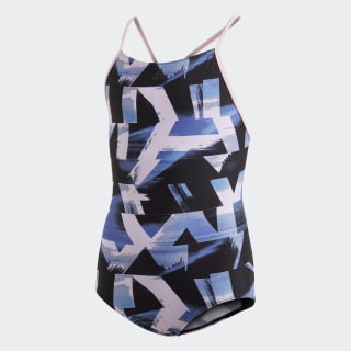 Allover Print Swimsuit Multicolor DQ3374