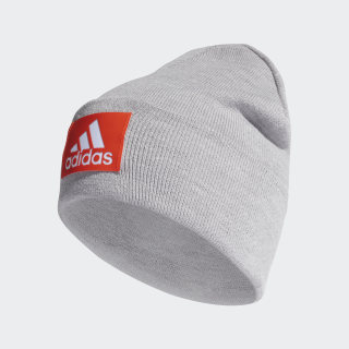 Шапка Logo medium grey heather / active orange / white DZ4557
