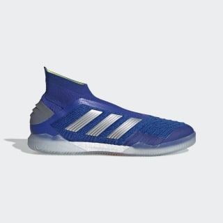 Predator Tango 19+ IN Fußballschuh Bold Blue / Silver Met. / Active Red BB8114