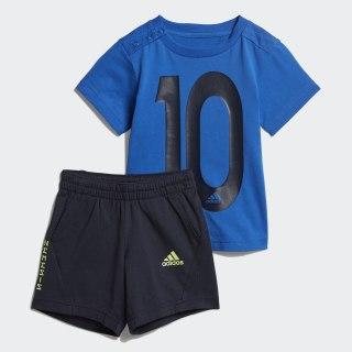 Комплект: футболка и шорты Mini Me blue / legend ink DV1233
