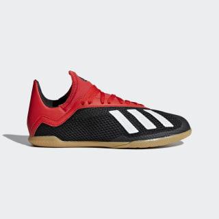 Calzado de Fútbol X 18 3 IN JR Core Black / Off White / Active Red BB9395