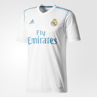Jersey Real Madrid de Local WHITE/VIVID TEAL S13 B31097