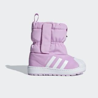 Зимние ботинки Superstar clear lilac / ftwr white / ftwr white B37303