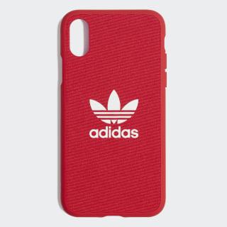 Moulded 5,8-Inch iPhone X Schutzhülle Scarlet / White CM1511