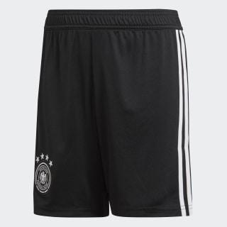 Pantaloneta Oficial Selección de Alemania Local Niño 2018 BLACK/WHITE BQ8465