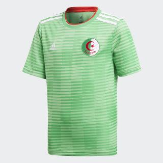 Koszulka wyjazdowa reprezentacji Algierii Semi Flash Green / White / Red CF4037