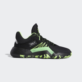 D.O.N. Issue #1 Shoes Core Black / Team Solar Green / Silver Metallic EF2805