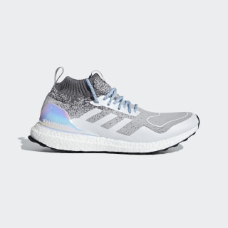 Chaussure Ultraboost Mid Light Granite / Light Granite / Silver Metallic EE3732