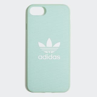 Funda iPhone 8 Snap Fabric Clear Mint / White CK6180