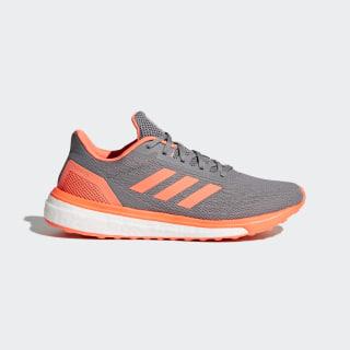 Response Shoes Grey / Hi-Res Orange / Cloud White CQ0017
